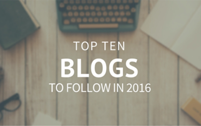 Top 10 blogs to follow in 2016